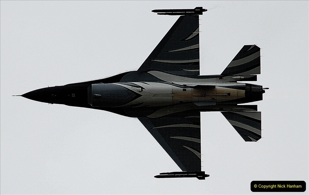 2019-07-13 Yeovilton Air Day. (502) F-16 Fighting Falcon.