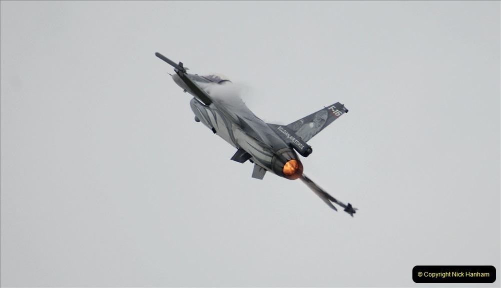 2019-07-13 Yeovilton Air Day. (504) F-16 Fighting Falcon.