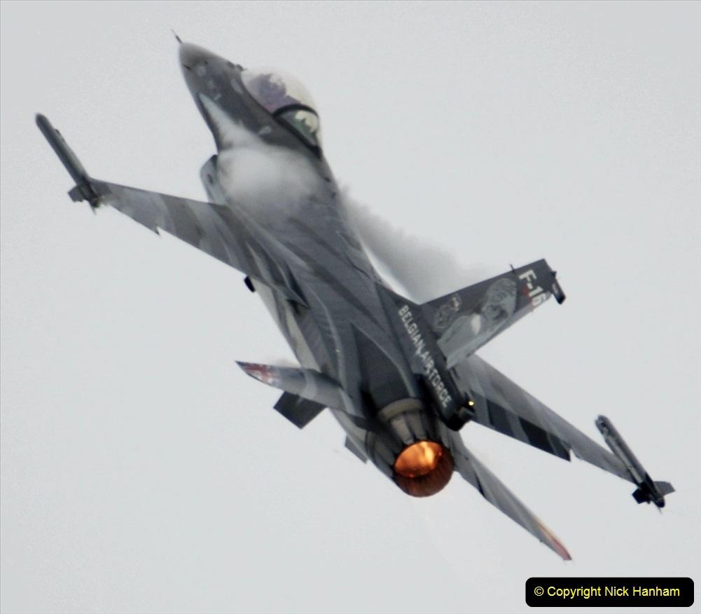 2019-07-13 Yeovilton Air Day. (505) F-16 Fighting Falcon.