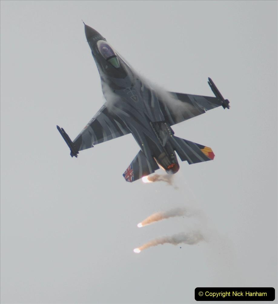 2019-07-13 Yeovilton Air Day. (506) F-16 Fighting Falcon.