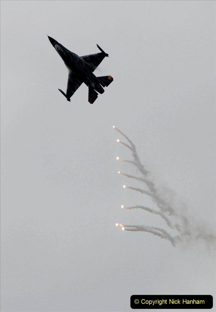 2019-07-13 Yeovilton Air Day. (516) F-16 Fighting Falcon.