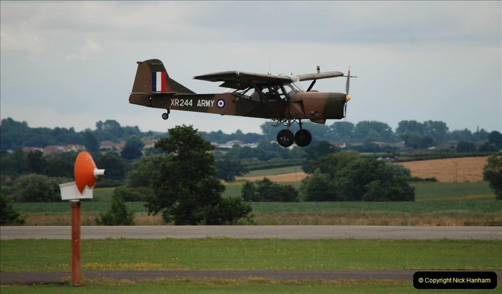 2019-07-13 Yeovilton Air Day. (538) Auster AOP. (2)