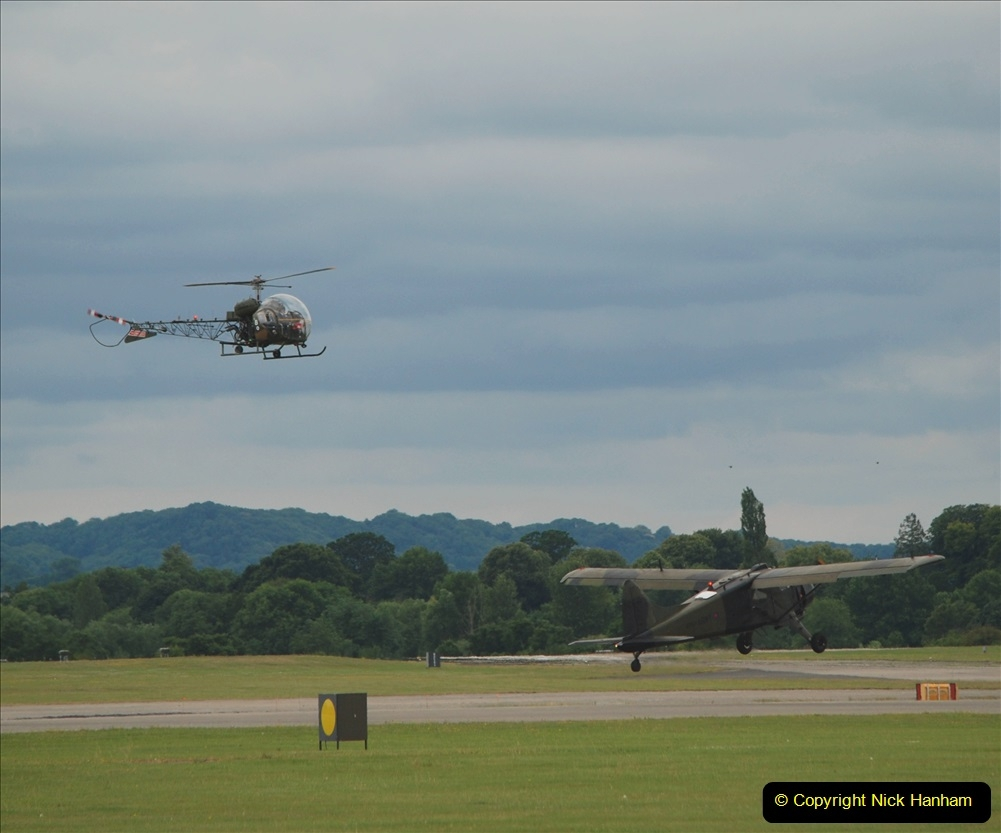 2019-07-13 Yeovilton Air Day. (539) Sioux and Auster AOP.