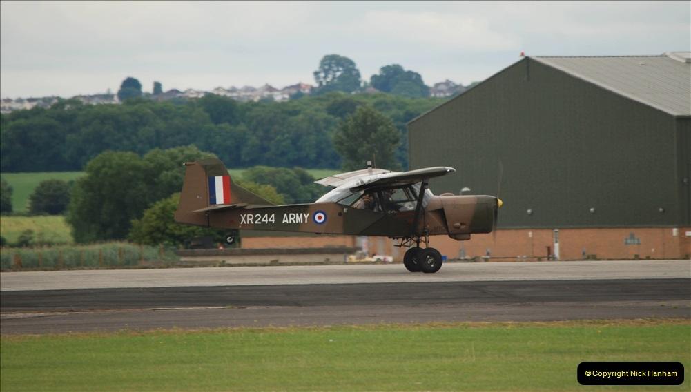 2019-07-13 Yeovilton Air Day. (542) Auster AOP.