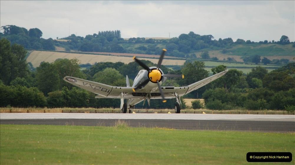2019-07-13 Yeovilton Air Day. (577) Hawker Sea Fury T.20.