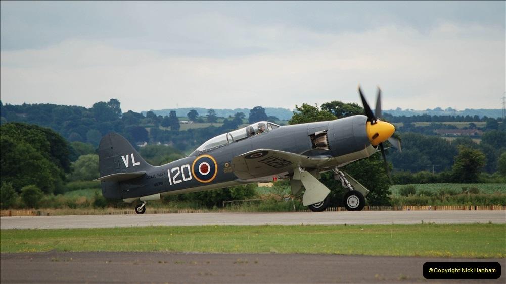 2019-07-13 Yeovilton Air Day. (579) Hawker Sea Fury T.20.