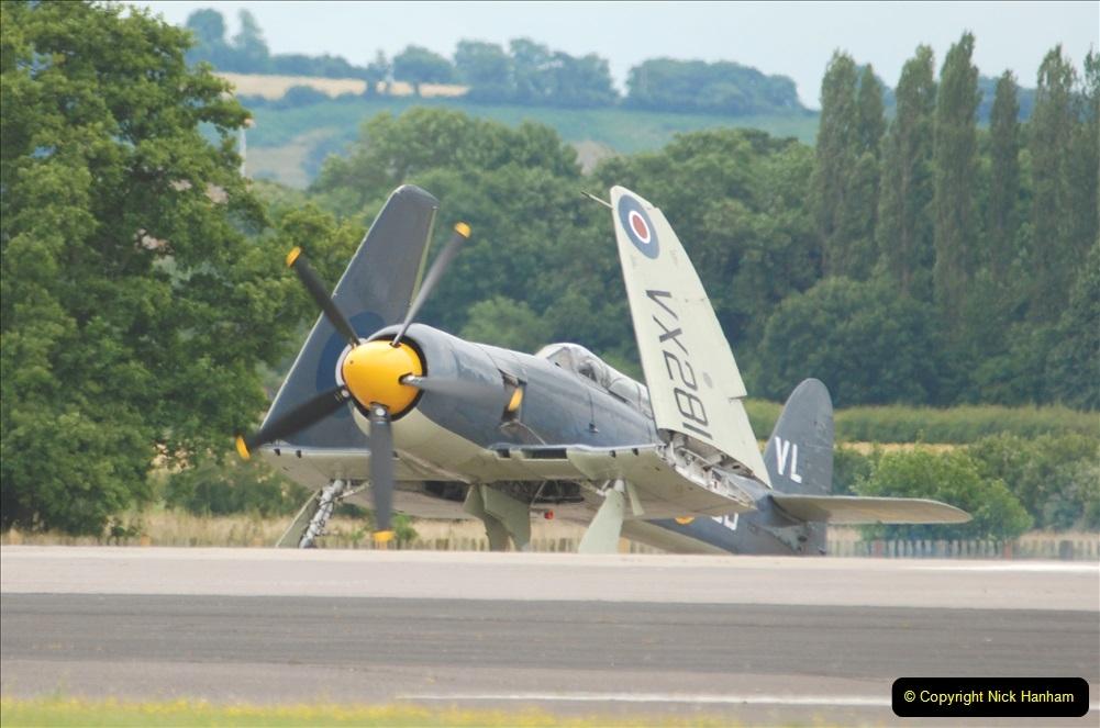 2019-07-13 Yeovilton Air Day. (581) Hawker Sea Fury T.20.
