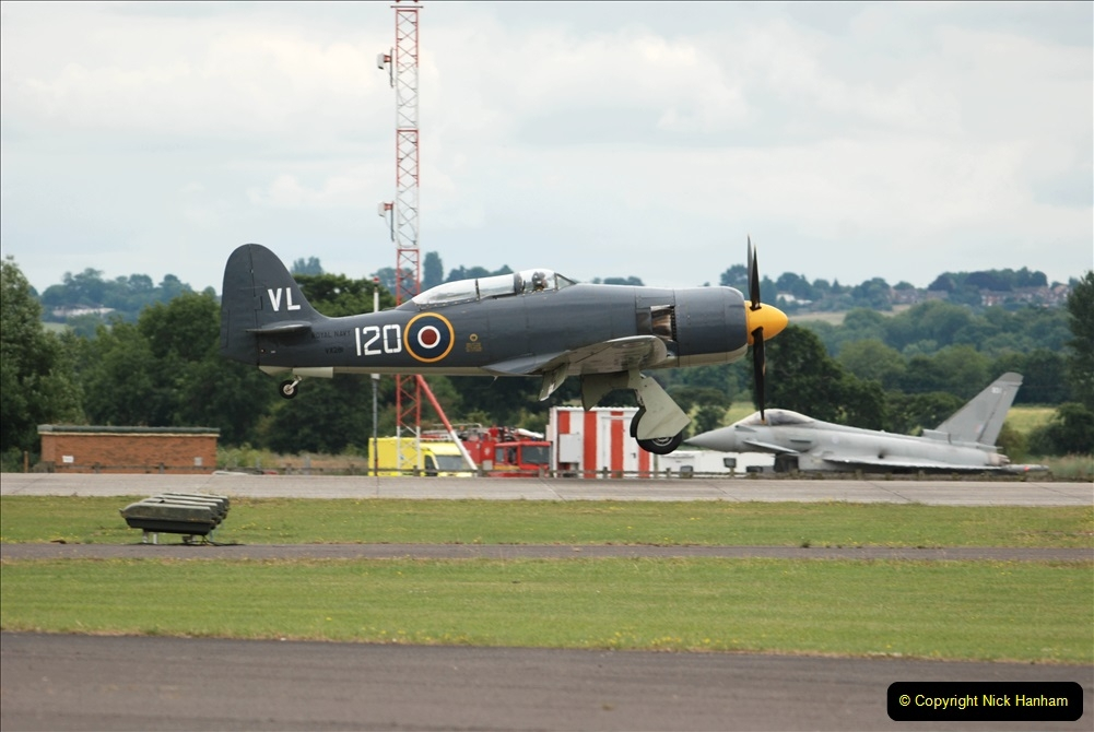2019-07-13 Yeovilton Air Day. (589) Hawker Sea Fury T.20.
