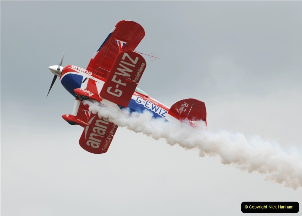 2019-07-13 Yeovilton Air Day. (595) Pitts S-2 Special.