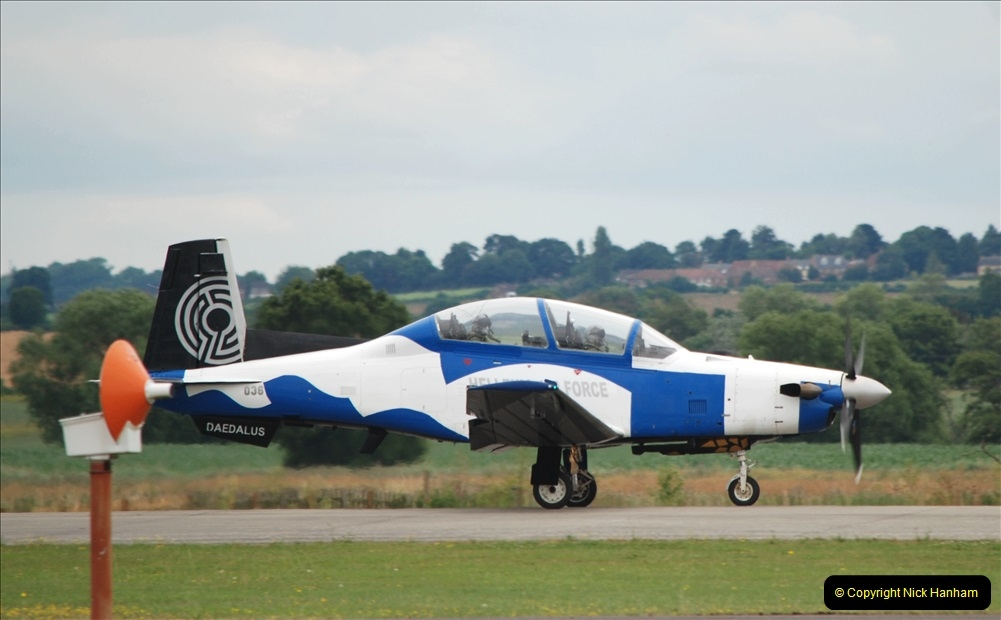 2019-07-13 Yeovilton Air Day. (619) Helinic Air Force Daedalus G36.