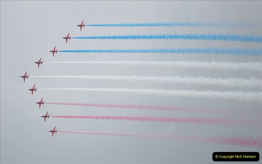 2019-07-13 Yeovilton Air Day. (653) Red Arrows.