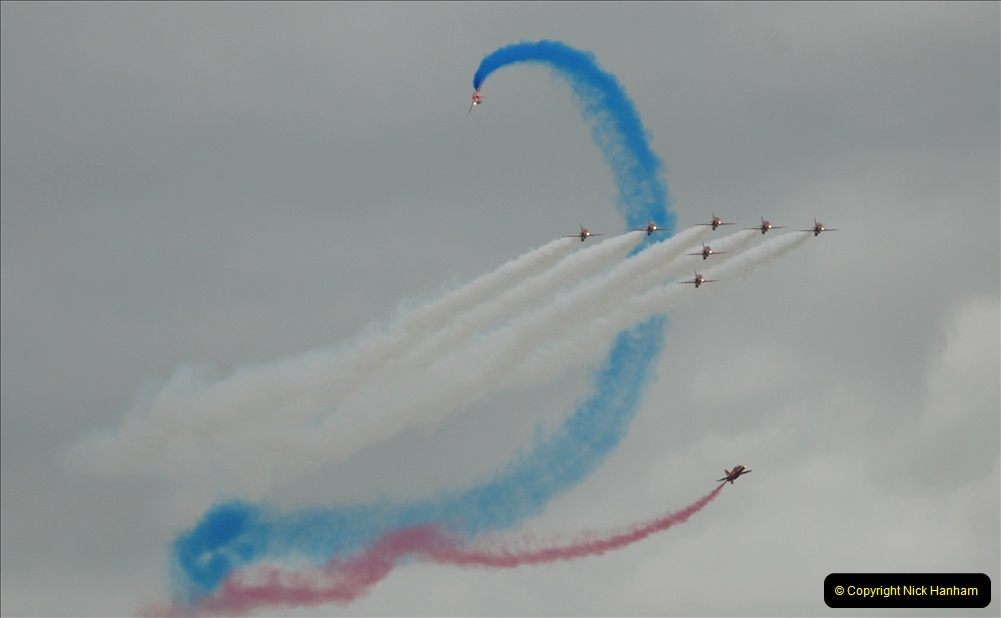 2019-07-13 Yeovilton Air Day. (659) Red Arrows.