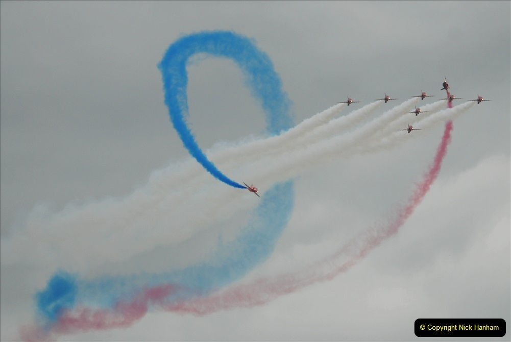 2019-07-13 Yeovilton Air Day. (660) Red Arrows.