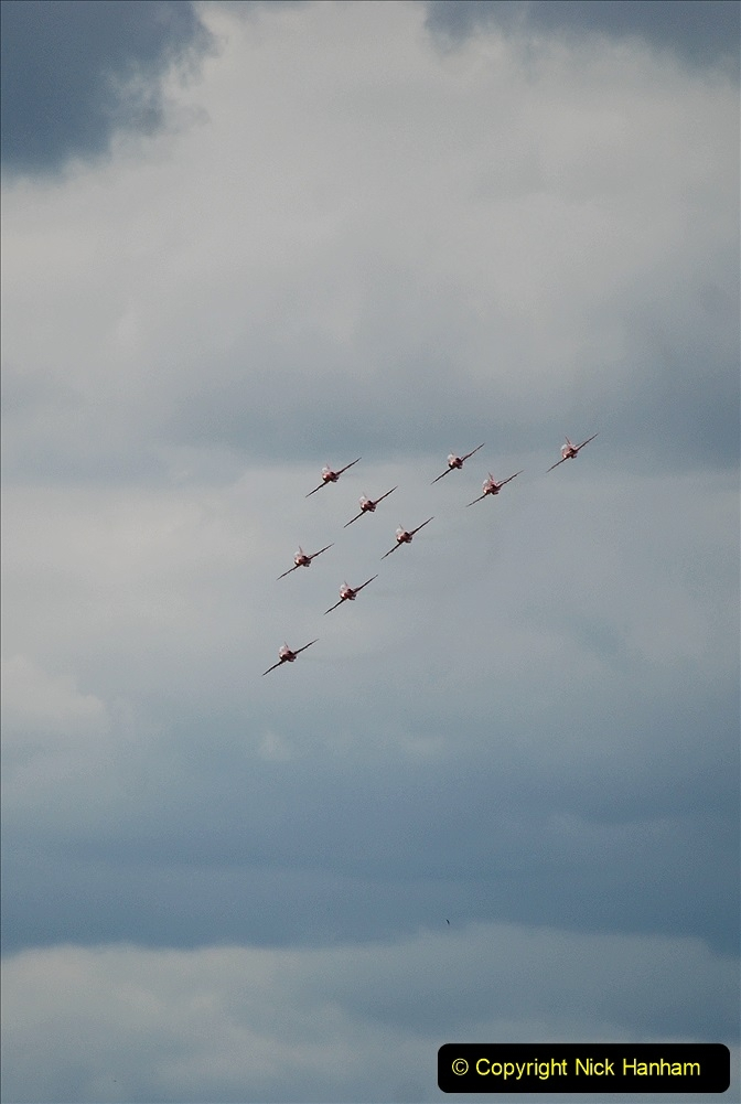 2019-07-13 Yeovilton Air Day. (672) Red Arrows.