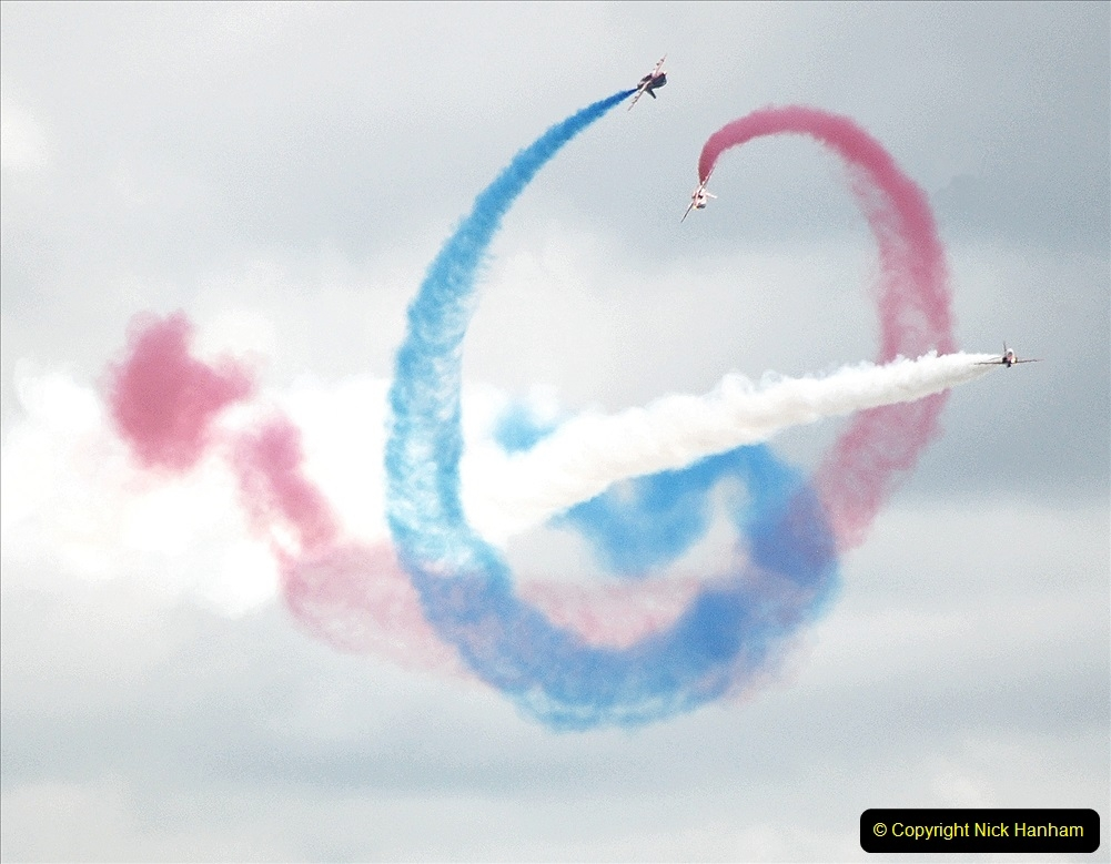 2019-07-13 Yeovilton Air Day. (698) Red Arrows.