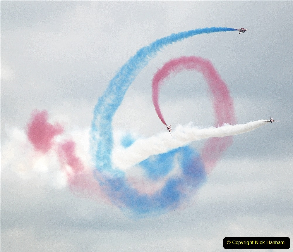 2019-07-13 Yeovilton Air Day. (699) Red Arrows.