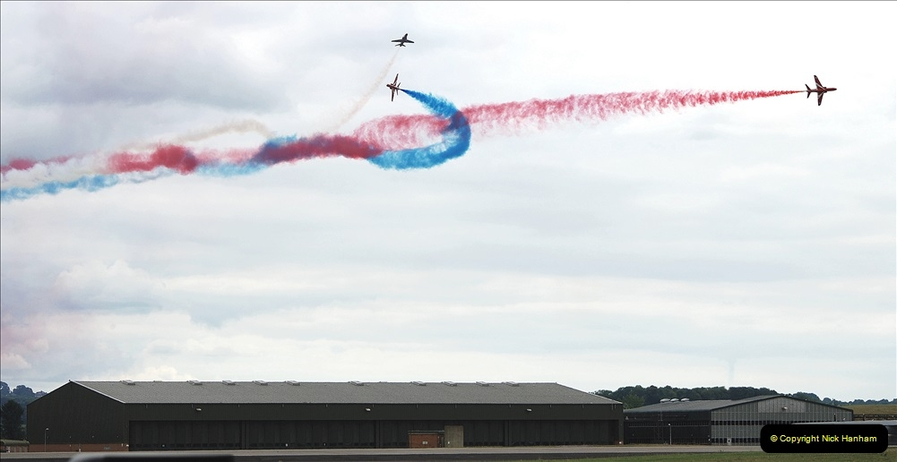 2019-07-13 Yeovilton Air Day. (703) Red Arrows.