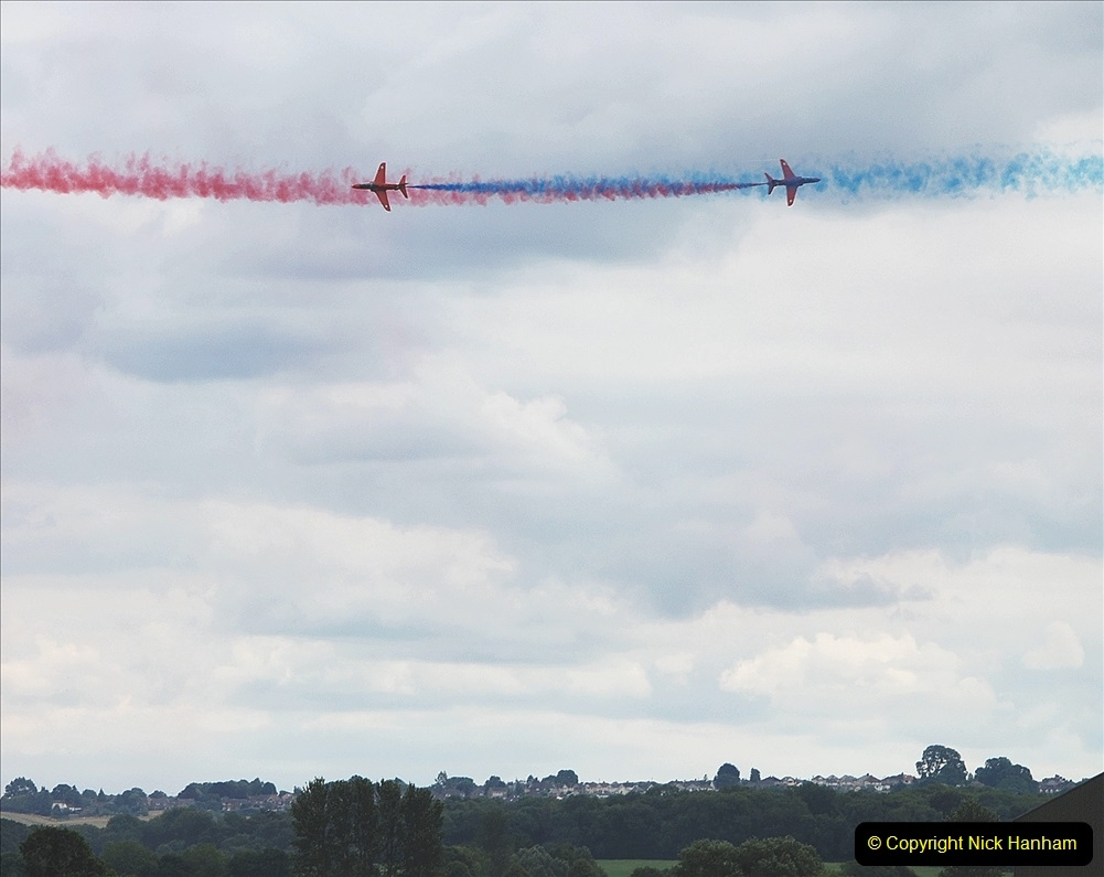 2019-07-13 Yeovilton Air Day. (710) Red Arrows.