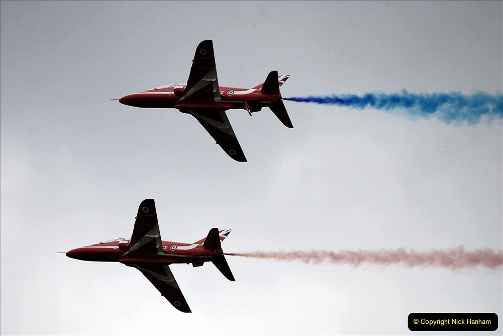 2019-07-13 Yeovilton Air Day. (716) Red Arrows.