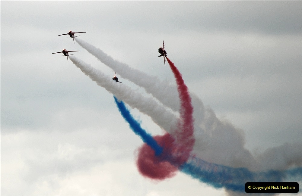 2019-07-13 Yeovilton Air Day. (719) Red Arrows.
