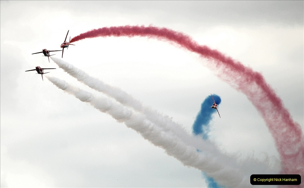 2019-07-13 Yeovilton Air Day. (721) Red Arrows.