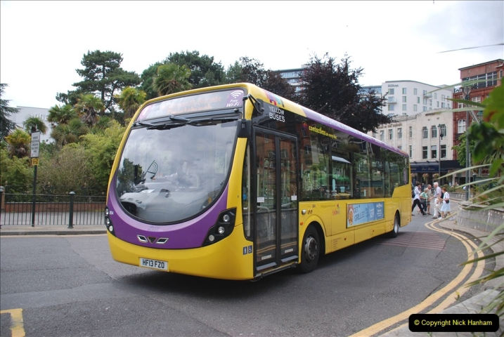 2019-07-18 More Yellow Buses Number 2 (39) Bournemouth Square 1230 to 1330 and journey home. 039