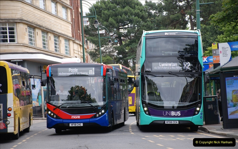 2019-07-18 More Yellow Buses Number 2 (42) Bournemouth Square 1230 to 1330 and journey home. 042