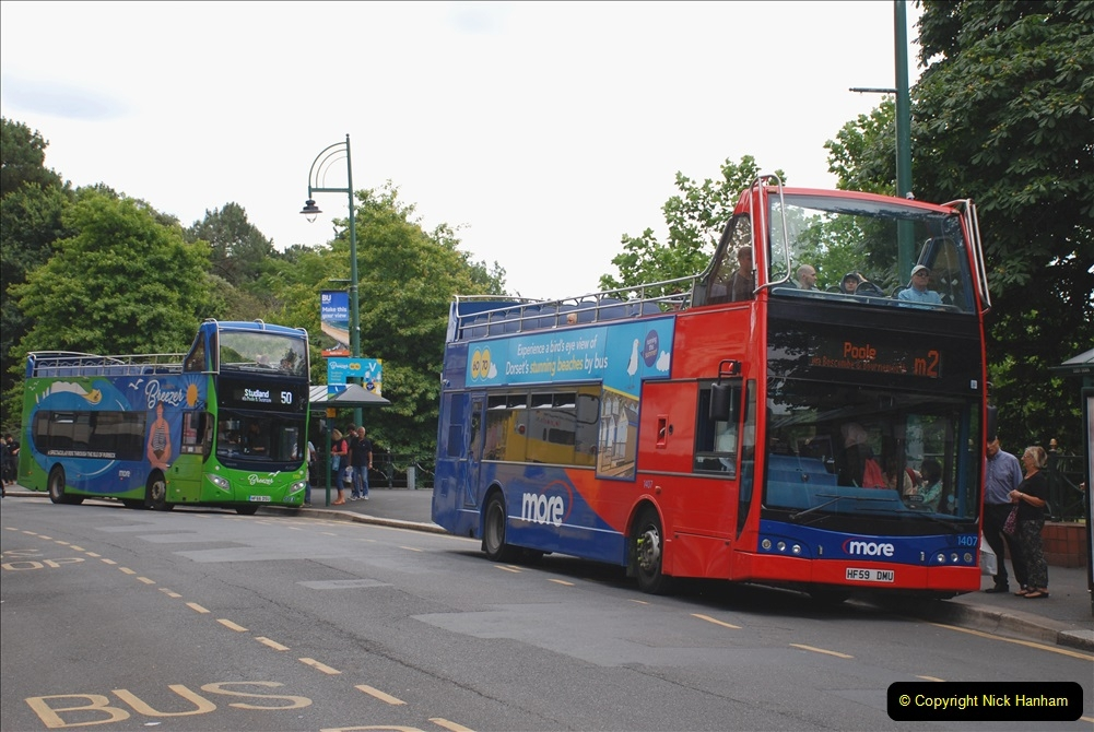 2019-07-18 More Yellow Buses Number 2 (59) Bournemouth Square 1230 to 1330 and journey home. 059