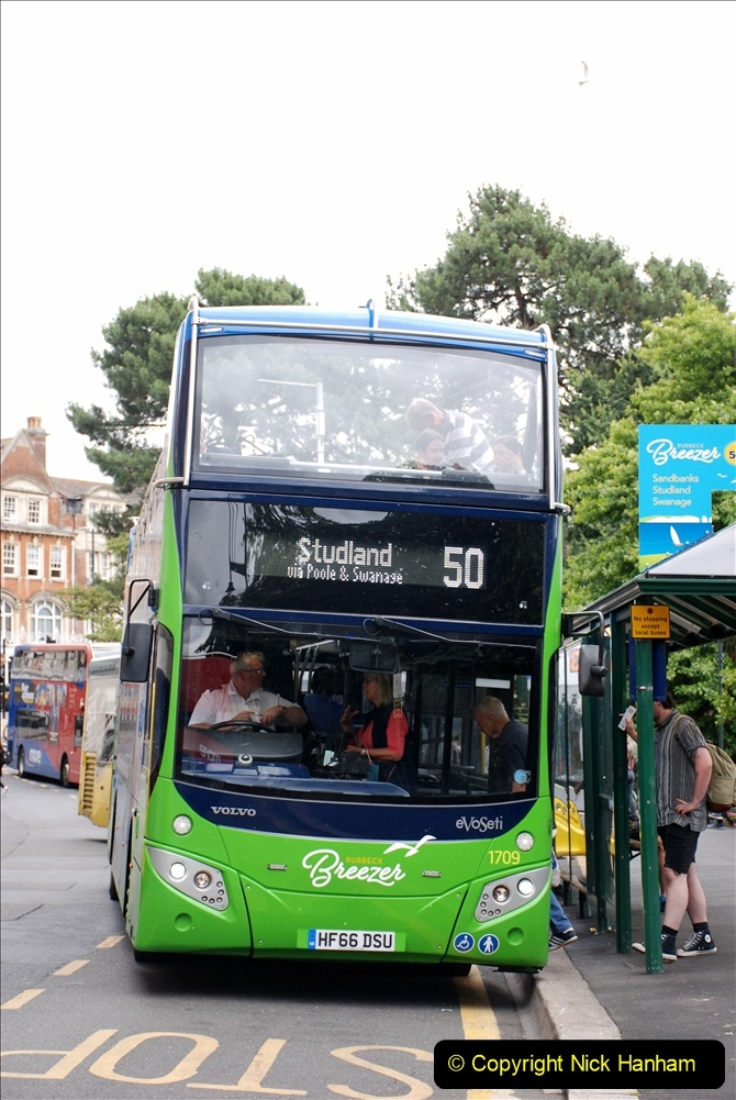 2019-07-18 More Yellow Buses Number 2 (62) Bournemouth Square 1230 to 1330 and journey home. 062