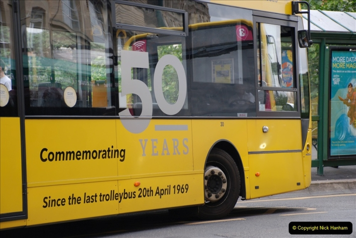 2019-07-18 More Yellow Buses Number 2 (79) Bournemouth Square 1230 to 1330 and journey home. 079