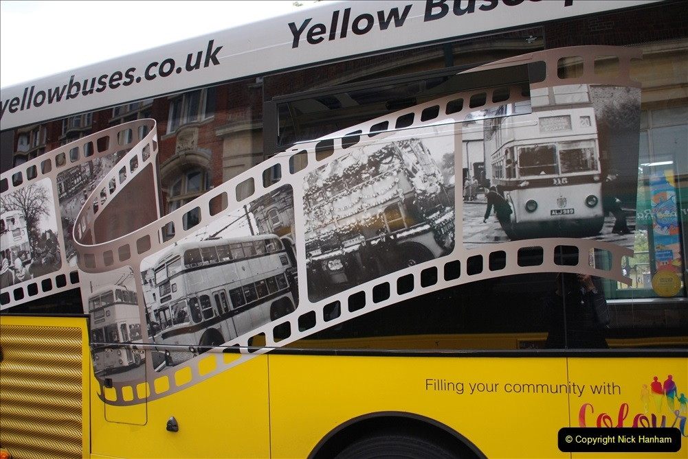 2019-07-18 More Yellow Buses Number 2 (83) Bournemouth Square 1230 to 1330 and journey home. 083