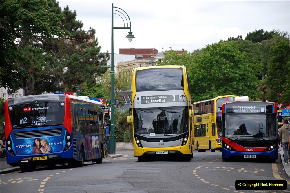 2019-07-18 More Yellow Buses Number 2 (93) Bournemouth Square 1230 to 1330 and journey home. 093