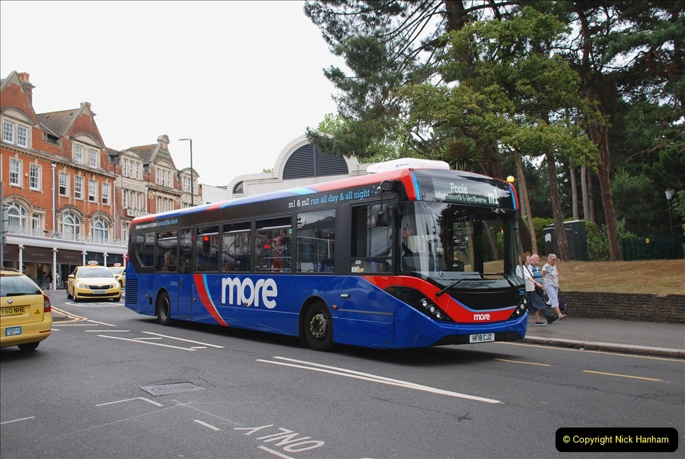 2019-07-18 More Yellow Buses Number 2 (97) Bournemouth Square 1230 to 1330 and journey home. 097