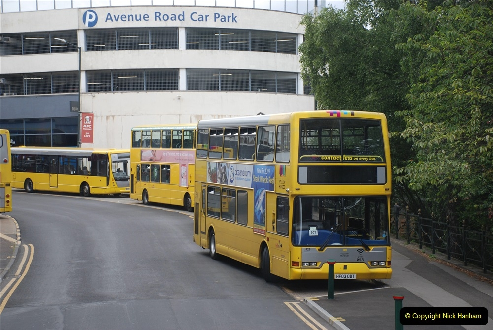 2019-07-18 More Yellow Buses Number 2 (102) Bournemouth Square 1230 to 1330 and journey home. 102