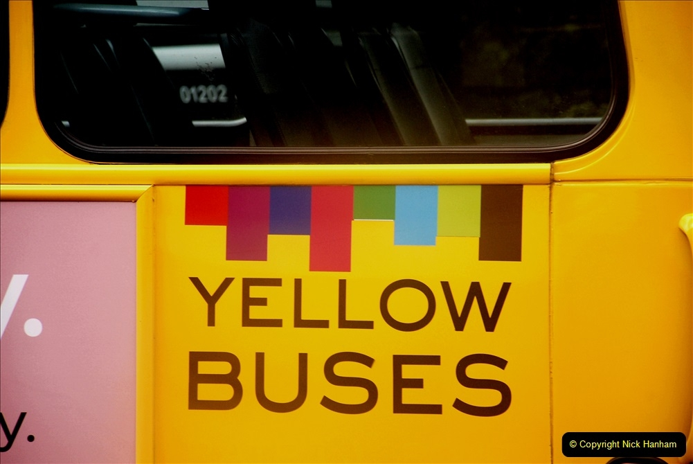 2019-07-18 More Yellow Buses Number 2 (104) Bournemouth Square 1230 to 1330 and journey home. 104