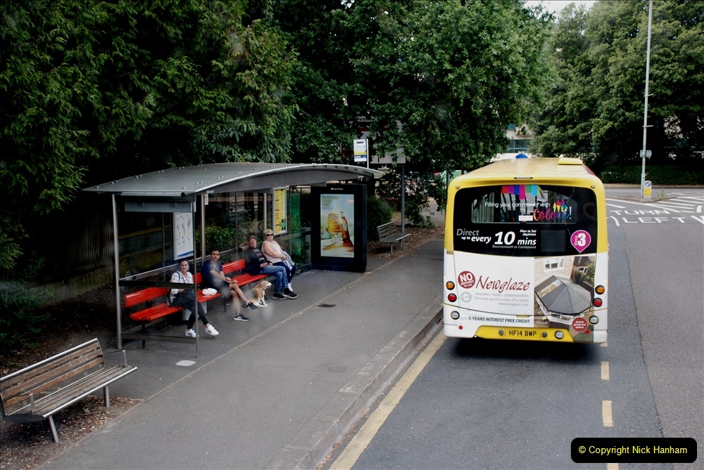 2019-07-18 More Yellow Buses Number 2 (110) Bournemouth Square 1230 to 1330 and journey home. 110