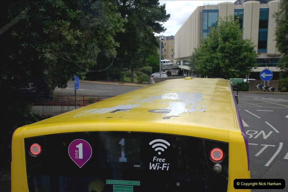 2019-07-18 More Yellow Buses Number 2 (112) Bournemouth Square 1230 to 1330 and journey home. 112
