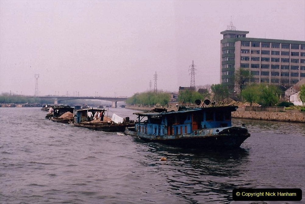 China 1993 April. (65) On The Grand Canal Wuxi to Suzhou. 064