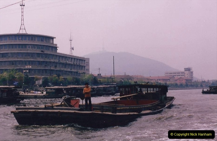 China 1993 April. (66) On The Grand Canal Wuxi to Suzhou. 066