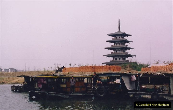 China 1993 April. (72) On The Grand Canal Wuxi to Suzhou. 072
