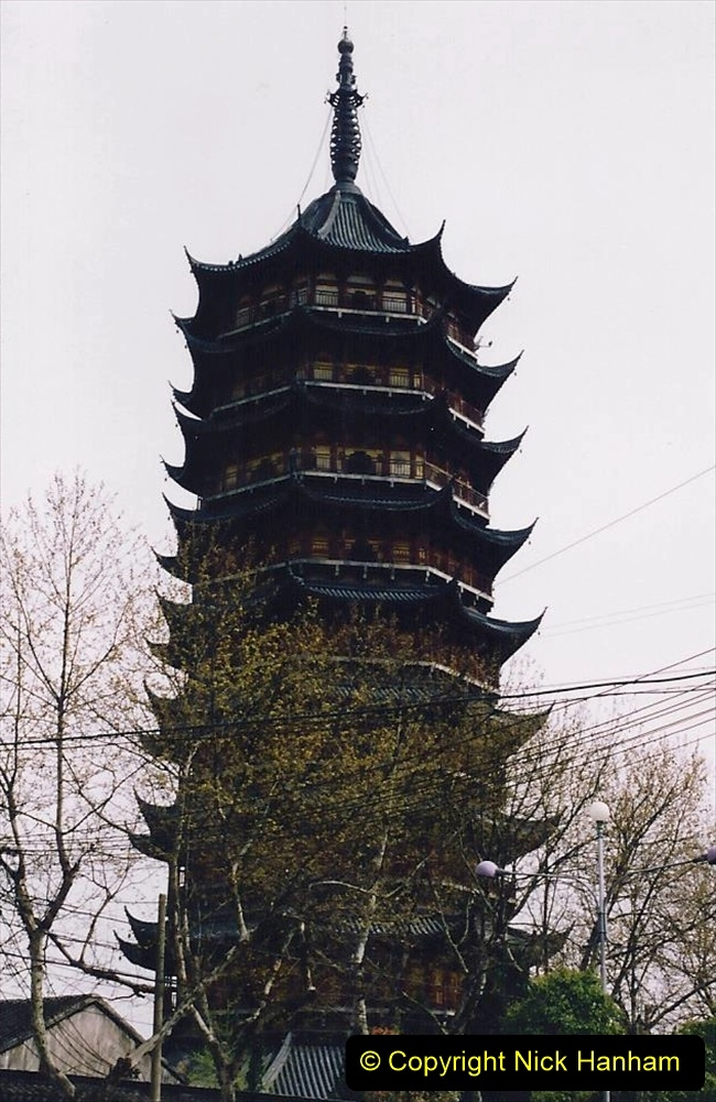 China 1993 April. (98) Suzhou. All pagodas are built with an odd number of floors.098