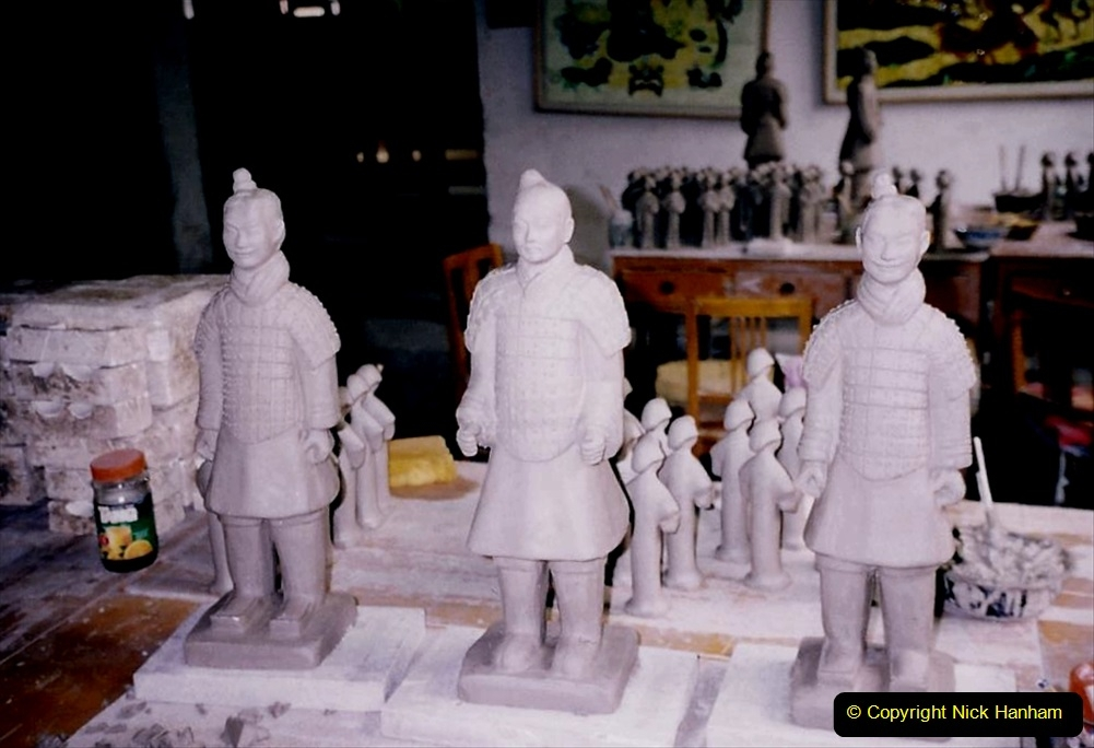 China 1993 April. (14) Terra Cotta Warriers Museum. 014