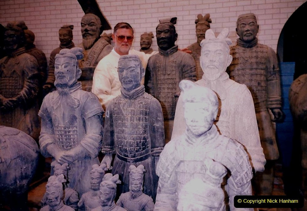 China 1993 April. (15) Terra Cotta Warriers Museum. 015
