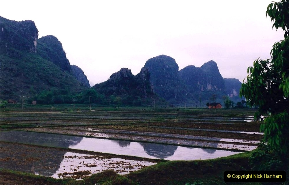 China 1993 April. (119) Road journey back to Guilin. 119