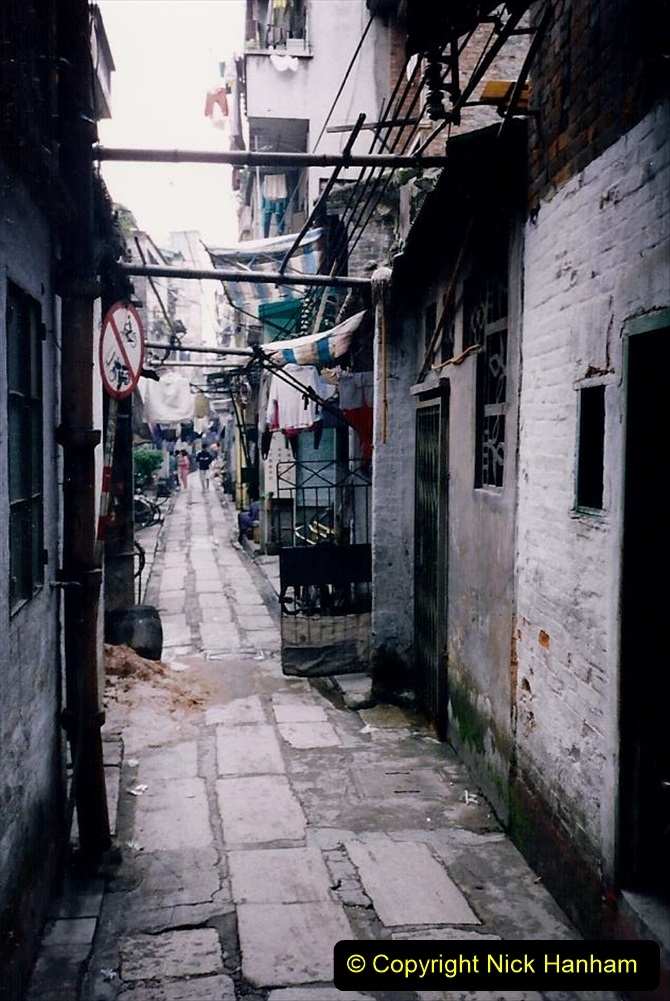 China 1993 April. (175) Streets of Guangzhou. 175