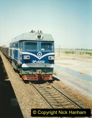 Pakistan and China 1996 June. (177) West to Yinchuan. DF4.177