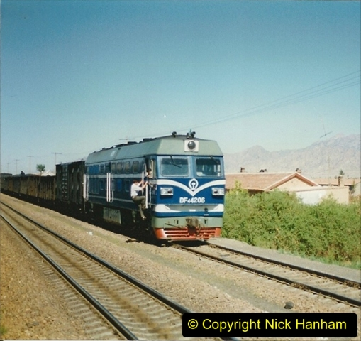 Pakistan and China 1996 June. (187) West to Yinchuan. DF4.187