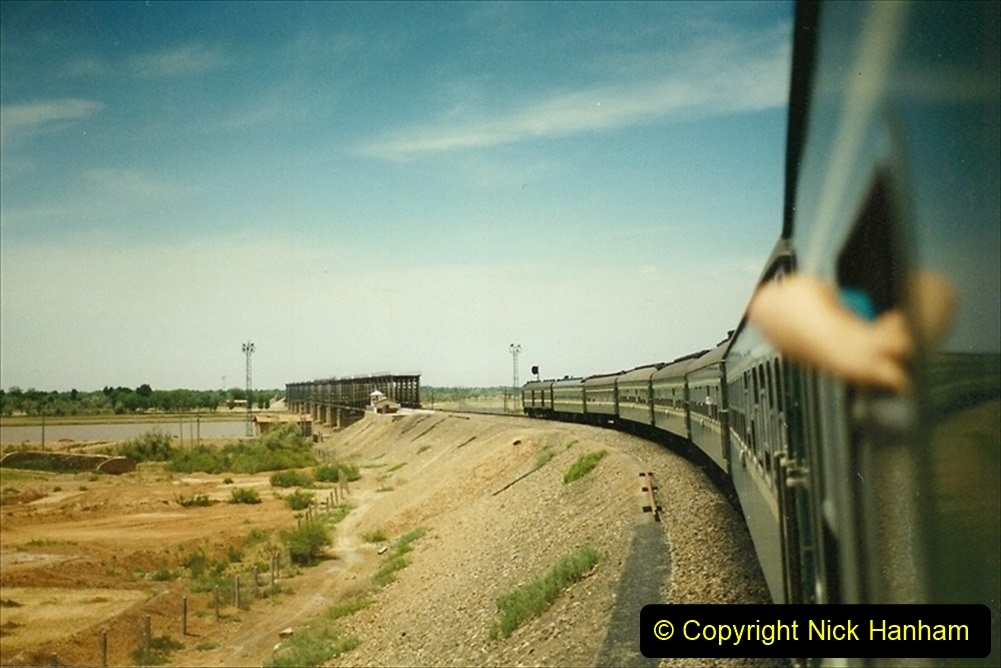 Pakistan and China 1996 June. (190) West to Yinchuan. 190