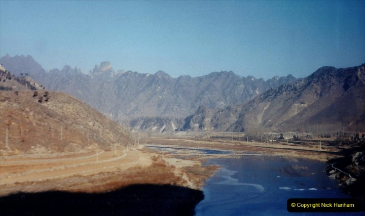 China 1997 November Number 1. (57) On the way to Chengde. 057