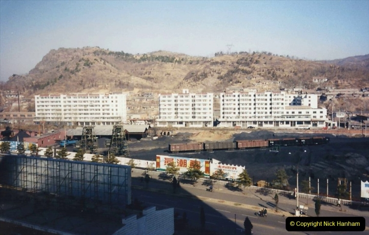 China 1997 November Number 1. (63) My Chengde Hotel and room view. 063